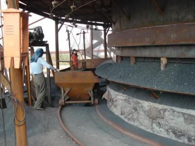 Palletizing and blast furnace